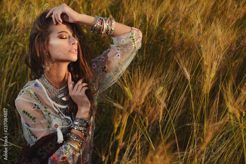 Cadres-photo bureau Gypsy modern boho style