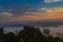 Mist Si Nan National Park Doi Samer Dao Thailand