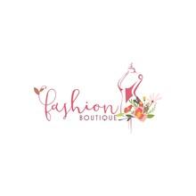 Tailor Sewing Vintage, Fashion, Retro Logo, Icon, SignTemplate Vector Design