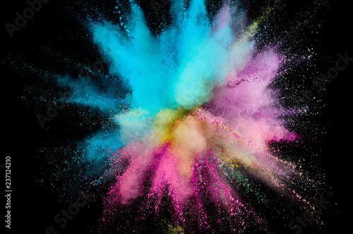 Fotografie, Obraz  Colored powder explosion