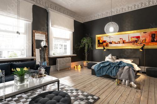 Staande foto Hoogte schaal Luxus Apartment