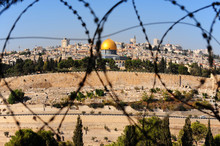 Jerusalem Through Barbed Wire