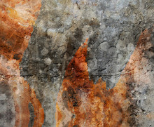 Abstract Textured Wall Backgro...