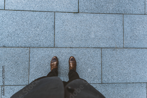 Foto  Outdoors in the city pavement