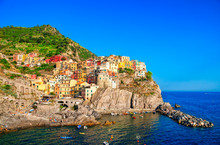 Manarola Is A Small Town Of Th...