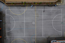 Aerial Overhead View Of An Out...