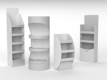 Product Display Shelf Or Stand. Cosmetics Holder Or POS Stand