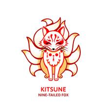 Japanese Nine-tailed Fox Kitsune