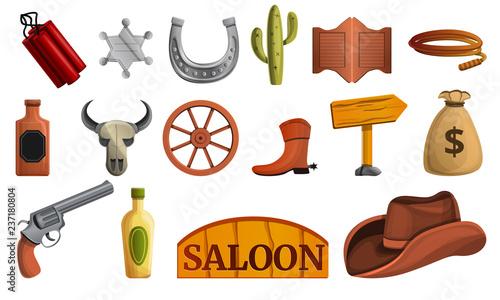 Photo Saloon icon set