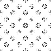 Futuristic Aim Target Pattern ...