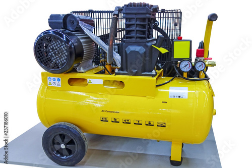 Fototapeta Powerful air compressor obraz