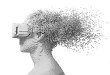 Digital Man Wearing Virtual Re...