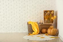 Beautiful Autumn Composition W...