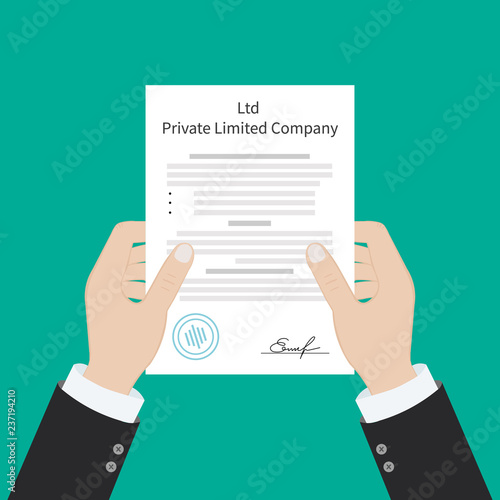 Leinwand Poster Ltd Private Limited Company Types of business corporation organization entity
