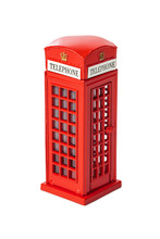 Toy Red Phone Booth Of London