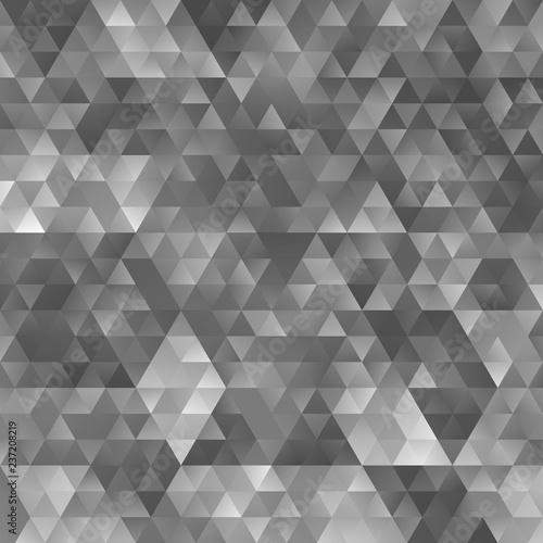 Valokuvatapetti Gradient abstract triangle pattern background design