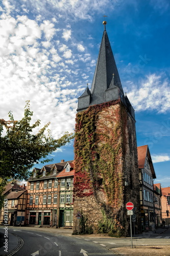 Foto op Canvas Europa Wernigerode, Westerntorturm