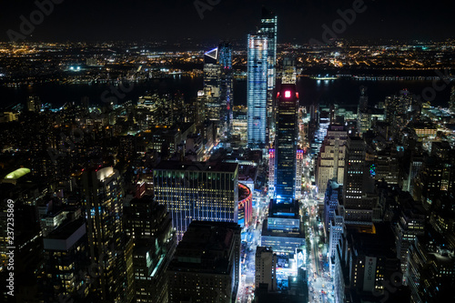 Deurstickers New York City New York