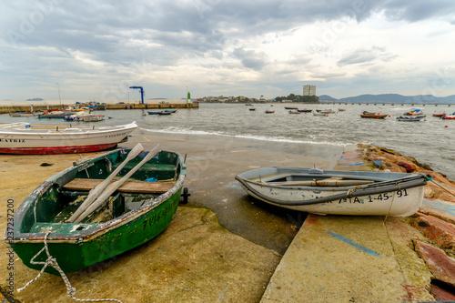 Fototapety, obrazy: Fishing boats in Canido - Vigo