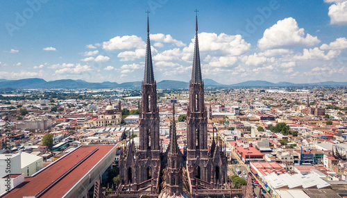 gothic cathedral aerial