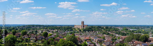 Photo  europe, UK, England, Surrey, Guildford, Cathedral panorama