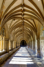 Cloisters Lit By Sunlight At C...