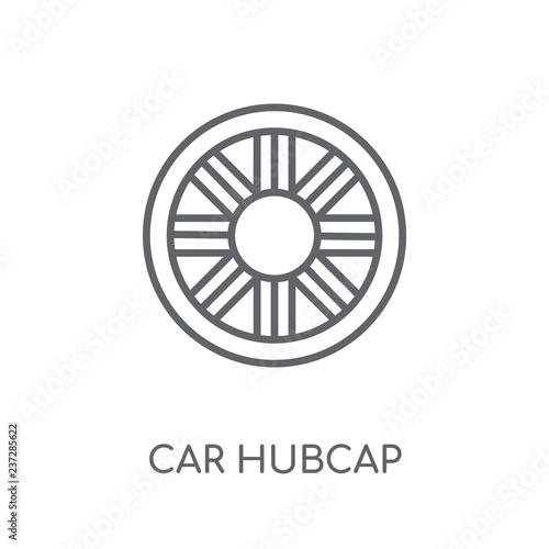 car hubcap linear icon Tapéta, Fotótapéta