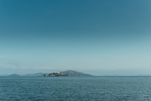 Island Of Alcatraz In San Francisco