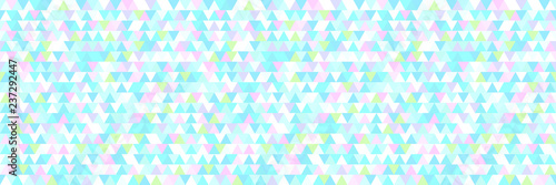 Fotobehang Lichtblauw Seamless triangle pattern. Geometric wallpaper of the surface. Unique background. Doodle for design. Print for flyers, posters, t-shirts and textiles. Vintage and retro style