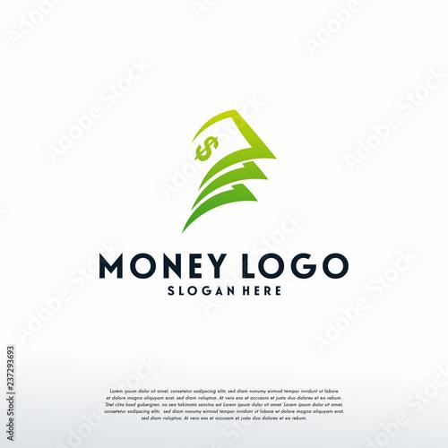 Money Logo Designs Template Vector
