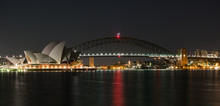 Sydney Harbour In The Very Early Hours Of The Day