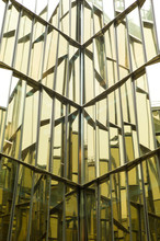 Building With Mirror Windows