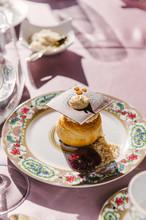 Elegant Puff Pastry Dessert On...