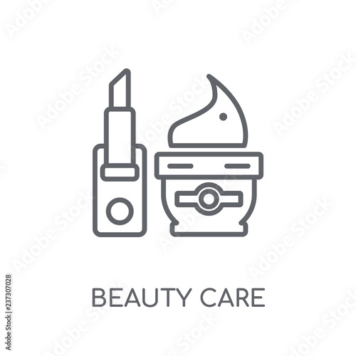 Fotografie, Obraz  beauty care linear icon