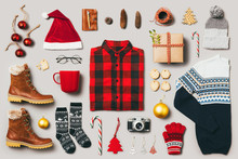 Christmas Still Life. Outfit A...