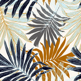 Vector art illustration in golden retro colors - 237322868