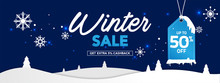 Winter Sale Banner Template Wi...