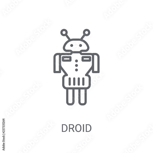 Droid icon Wallpaper Mural