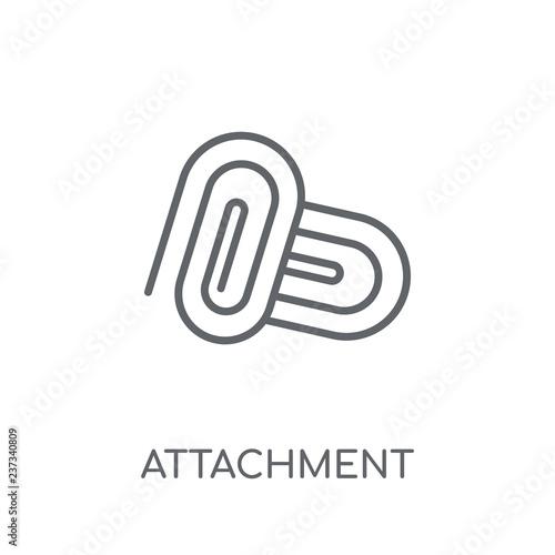 Fotografía  Attachment linear icon