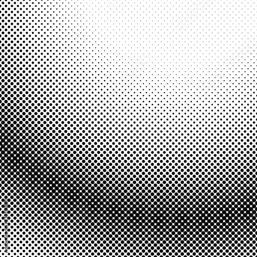 Fotografie, Obraz  Halftone dot pattern background design - abstract vector graphic