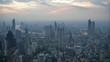 Twightlight of city skyline in Bangkok