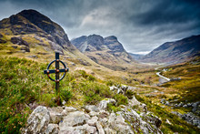 Ralston Memorial In Glencoe, Highlands