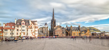 The Royal Mile And The Hub In ...