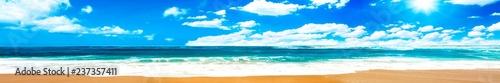 Autocollant pour porte Eau Ocean and blue sky