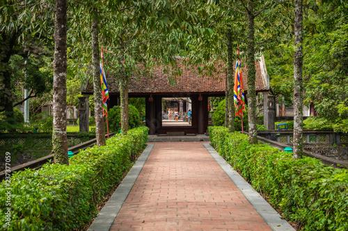 Temple of Dinh Tien Hoang at Hoa Lu Ninh Binh, first capital of Vietnam. Popular tourist destination in Ninh Binh Province.