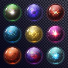 Magic Spheres Or Balls For Fut...