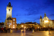Old Town Square Prague in the evening.