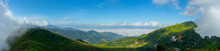 Panorama View Point  Mist On Doi Pha Tang Fa In Chiang Rai Province