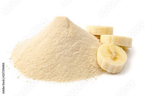 Bananen-Fruchtpulver