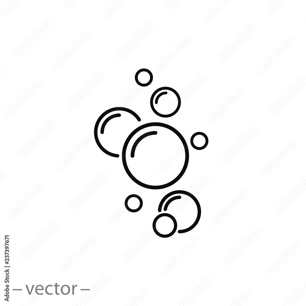 Fototapety, obrazy: bubble icon vector